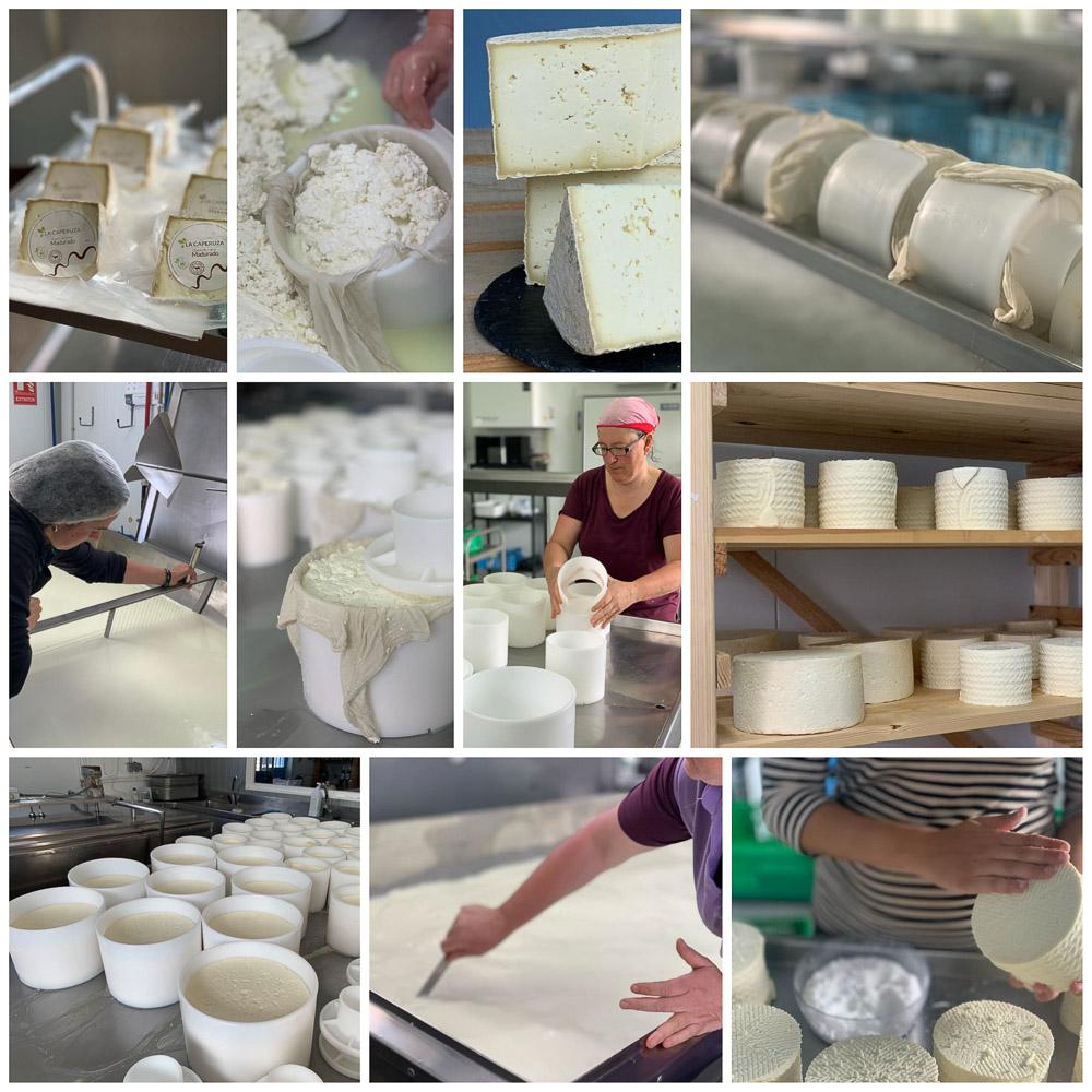¡Empezamos la semana con uno de los productos estrella de La Caperuza: el queso de leche cruda de cabra madurado!